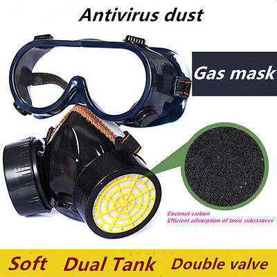 New Gas Mask Emergency Face Masks Filter Survival Safety Respiratory