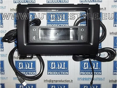 PANEL WITH DRAWER 2 SOCKETS USB car radio 1 Din Great Wall Hover H3 H5