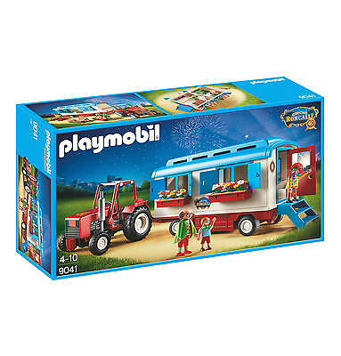 Playmobil 9041 Circus vintage Caravan  with Tractor rare clowns  NEW / SEALED