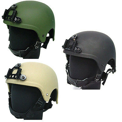 Army Military Tactical Gear Airsoft Paintball Protective Helmet Protection Black