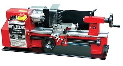 Micro Metal Lathe Machine Swing over Bed 140mm Distance between centers 250 mm