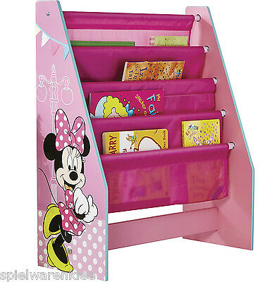 Disney Minnie Mouse Regal Bücherregal Kinderregal Spielzeugkiste Maus 470INN