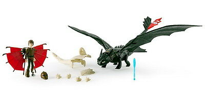DreamWorks Dragons Die Drachenreiter Drago Toothless Armored Dragon Figuren Set