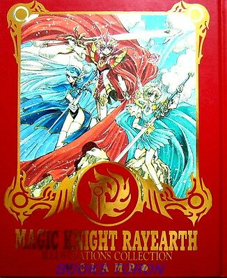 CLAMP Magic Knight Rayearth Illustrations Collection /Japanese Art Book