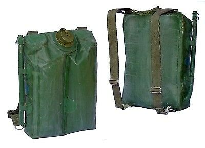 1970s Ex-Army 10 Litre Hydration Pack Large Backpack Water Hiking 10L Rucksack