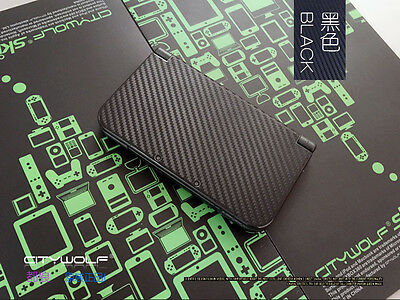 Hot Carbon Black Game Decals Skin Stickers for Nintendo New 3DS XL LL - XL0123#