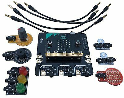 Playground for BBC micro:bit Starter Kit, Easy Physical Computing WITH MICRO:BIT