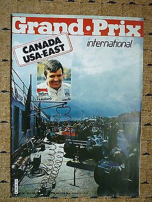 GRAND PRIX INTERNATIONAL MAGAZINE No.26 FORMULA 1 ONE EXC