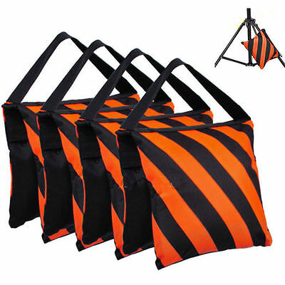 4Pcs Photography Studio Stage Weight Film Sandbags Sand Bag for Boom Light Stand