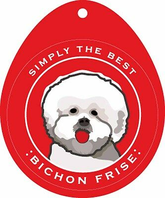 Bichon Frise Sticker 4×4″