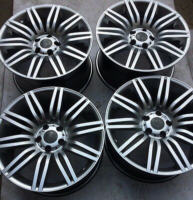 "SET OF FOUR 19"" x8.5 9.5 WHEELS RIMS for BMW 525i 528i 530i 535i 545 550i GT NEW"