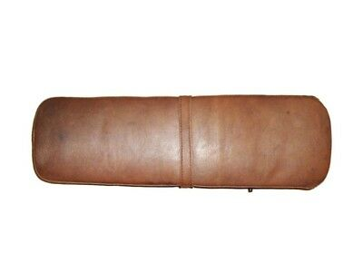 Brand New Customized Brown Leather Seat Ancillotti Type For Lambretta Scooter