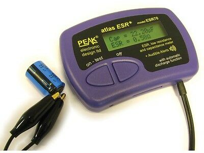 VELLEMAN Capacitance and ESR Meter, Made in USA