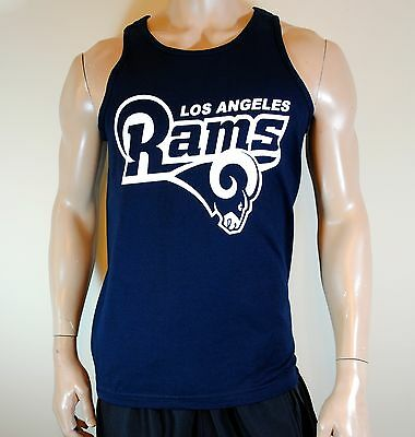 Los Angeles Rams Mens Tank Top Football Tee LA