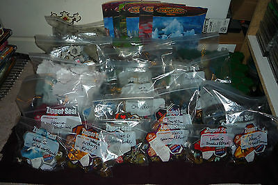 HUGE Heroscape Collection 12 Complete Sets 100's of Pieces Orms Return Rankar's+
