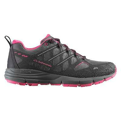 Kathmandu Zeolite Womens Lightweight Reflective Trail Running Shoes Grey