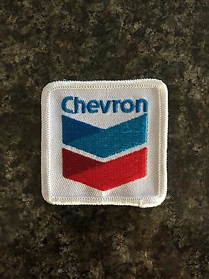 Chevron Fuel Patch Gas Gasoline Collectors Old Car Classic Truck Oil Station