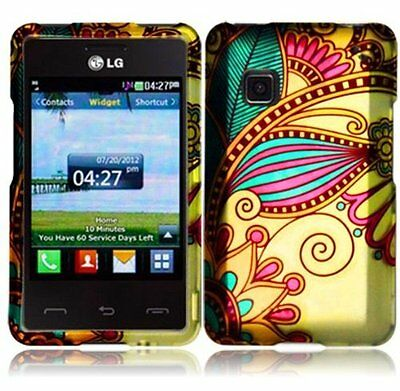 Design Snap-On Hard Faceplate Protective Cover Case for LG Optimus L9 P769 P760