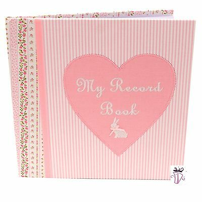 Brand new Baby Girl baby record book photo Keepsake Gift