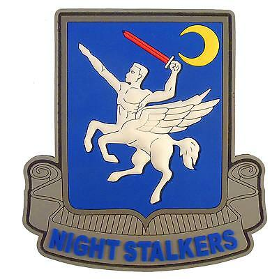 Night Stalkers Operation Red Wings 160th SOAR PVC rubber 3D fastener patch