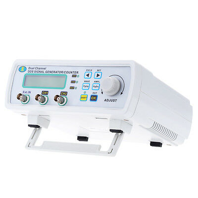 25MHz Dual-channel DDS Arbitrary Waveform Function Signal Generator Counter Kit