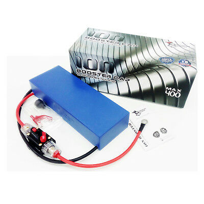 ION BOOSTER CAP MAX 400 Enhancing Car Performance Prolong Battery Alternator
