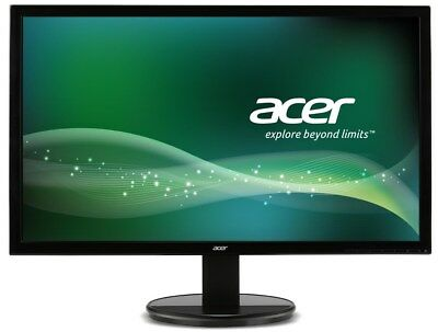 Acer K242HQL 24 inch LED Monitor - Full HD 1080p, 5ms Response, HDMI, DVI