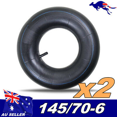 "2x 145/70- 6""inch Front Rear Tyre Tire Tube Quad Dirt Bike ATV Buggy Gokart"
