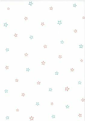 Christmas stars vellum paper - Scrapbooking, card making, craft - 10 sheets