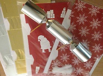 Make Your Own Christmas Crackers John Lewis 4 designs x12 MYO