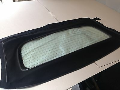 Mgf Rear Window Section Only Black Pvc - Rrp £205