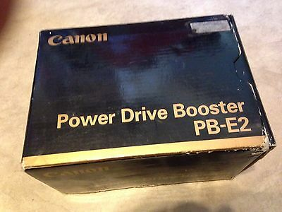 Canon Power Drive Booster PB-E2 for EOS 1/1n/1v/3 PBE2 in orig Box w/ Instructio