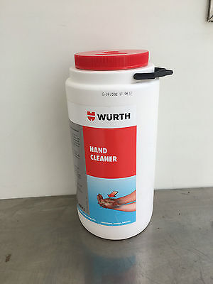 WURTH HAND CLEANER 4000ml REMOVES OIL DIRT GREASE ECT