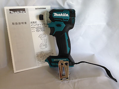 MAKITA TD170DZ Impact Driver Blue TD170DZ 18V Body Only Latest Model Japan