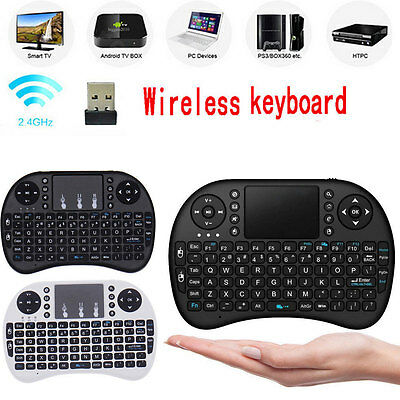 Rii mini i8 2.4GHZ Wireless Keyboard Mouse With Touchpad For Smart PC TV Box