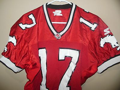 CFL Game Used  Calgary Stampeders Canadian Football Jersey