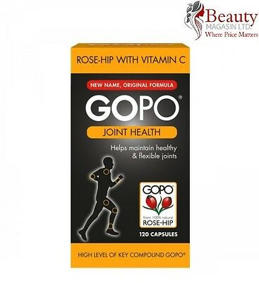 GOPO Joint Health Rose-Hip With Vitamin C - 120