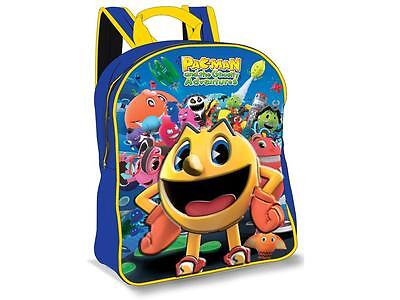 PacMan EVA 3D Junior backpack Children Rucksack School Nursery Travel Official
