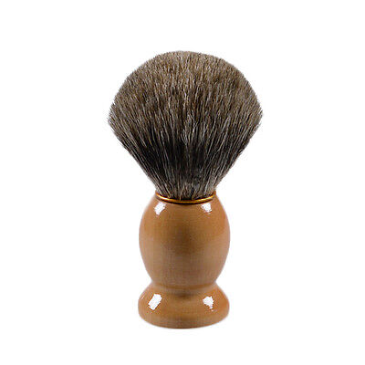 Professional Men's Best Badger Shaving Brush Wooden Hair Handle Barber