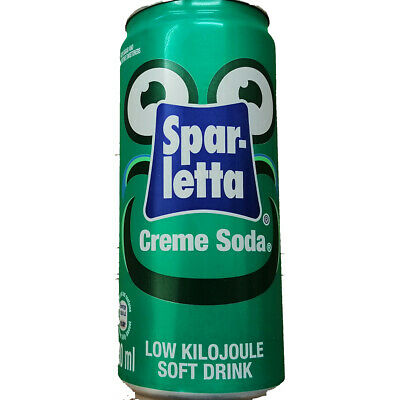 Sparletta Creme Soda Cans 330ml (Case of 24)