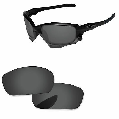 475d88621f PapaViva Black Grey Polarized Replacement Lenses For-Oakley Jawbone  Sunglasses