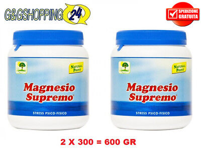 Magnesio Supremo 300 gr Antistress Natural Point 2X300 600 gr