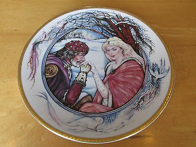 Legends of Camelot by Pickard Collector Plate: King Arthur and his Queen