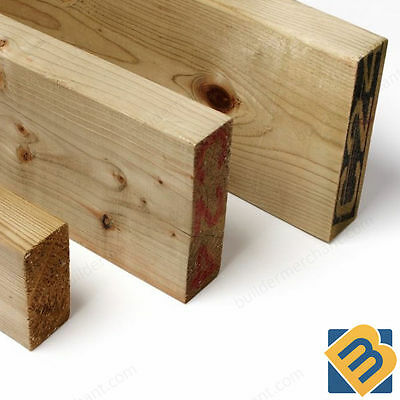 Treated Timber 3x2 Tanalised Pressure Treated Timber C16 C24 47mm x 75mm