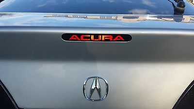 3rd brake light vinyl decal sticker overlay Fits Acura RSX 2002 2003 2004