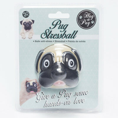 GET IT NOW Pug Stress Ball in Pink