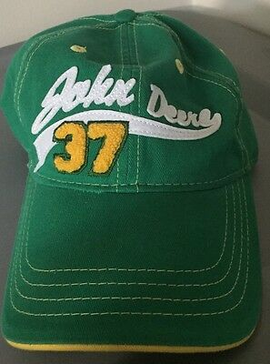 JOHN DEERE 37 Hat with Adjustable Velcro strap Cyrk