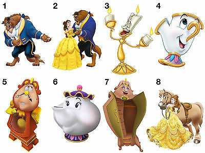Beauty And The Beast Stickers, Wall Decoration, DIY Arts & Crafts