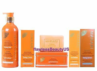 Makari Extreme with Carrot and Argan Oil Set