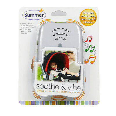 Summer Infant Soothe and Vibe Portable Soother & soothing sounds
